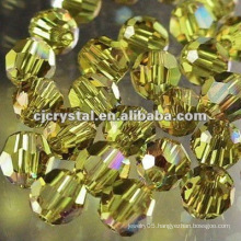 8MM Crystal Faceted Round Beads,glass beads for chandelier,New DIY loose glass round beads