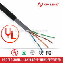 2016 Hot Selling Type Double Jacket 24AWG BC/CCA UTP Cat5e Outdoor Cable
