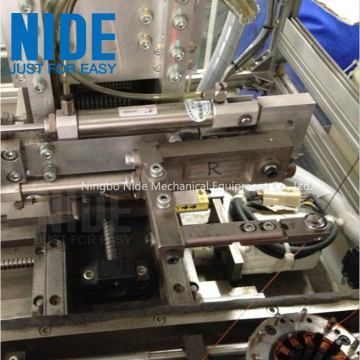 Automatic BLDC double working stations stator needle winding machine