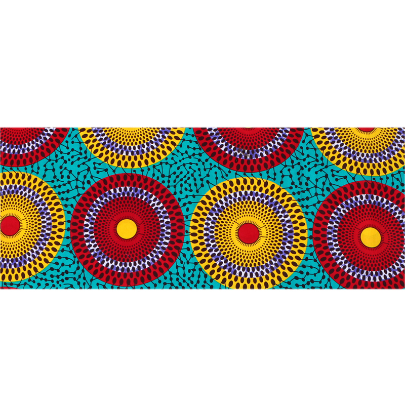 2018 Ankara African Wax Print Fabric Cotton