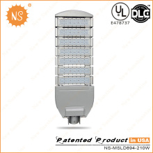IP65 Meanwell Driver CREE LEDs 210W LED Street Light