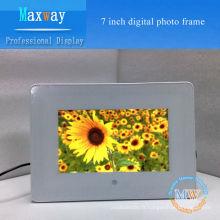 Cadre de photo numérique de 7 pouces PVC cadre