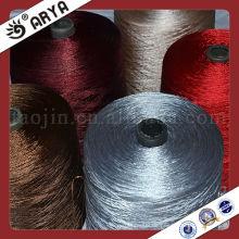 FDY, 100% Polyestergarn, 1200D Twist Twine für Teppich und Tieback Quaste mit hoher Echtheit