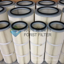 FORST High Filtration Efficiencies Air Cylindrical Filter For Cement