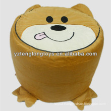 Cute animal inflatable stool for kids