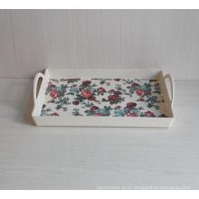 Лоток для посуды из бамбукового волокна с печатью (BC-TP1009)