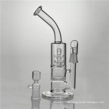 Waben-Scheiben-Glas-Rauch-Wasser-Rohre, um Duschkopf zu umkreisen (ES-GB-362)