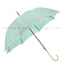 Stijlvolle Auto Open Hook Handle Dome Umbrella