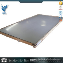 GB / T905 AISI 304L 2B e chapa de aço inoxidável polida