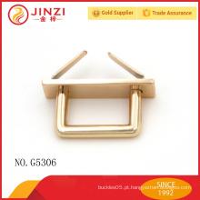 JZ metal Acessórios de metal personalizados para bolsas de couro, acessórios de metal para bolsas G5306