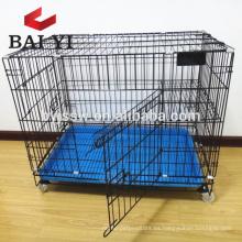 Jaula plegable al por mayor del gato interior, jaula barata del gato del metal Malasia