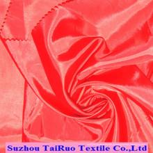 Tafetá do poliéster 170t para a tela do forro dos vestuários