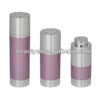 15ml 30ml 50ml rotatif Bouteille de pompe sans air cosmétique
