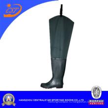 Лучшие моды нейлон хип Wader с резиновой Boot (6696AN)
