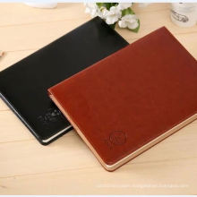 diary genuine leather notebook with blank paper