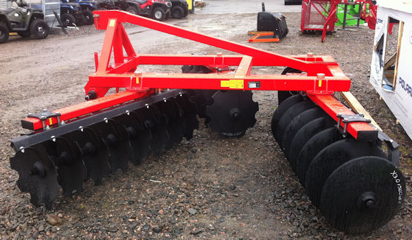 Farm Tractor Disc Harrow