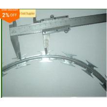 Hot Venda Quente Mergulhado Bto-22 Galvanizado 450, 600, 700, 900, 960mm Concertina Arame Farpado