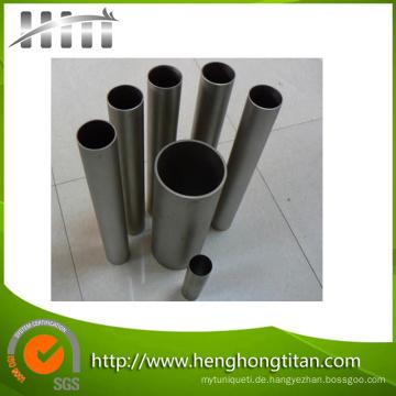 China Top Titanium Rohr für chemische Industrie mit bester Qualität