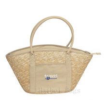 Hand-Woven Wheat Eco Tote Bag (hbst-33)