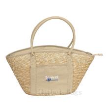 Mão-Woven sacola de Eco do trigo (hbst-33)