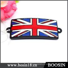 Hebilla del cinturón del Union Jack del estilo de la moda