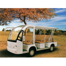8 seates electric or gas shuttle bus with cheap prices