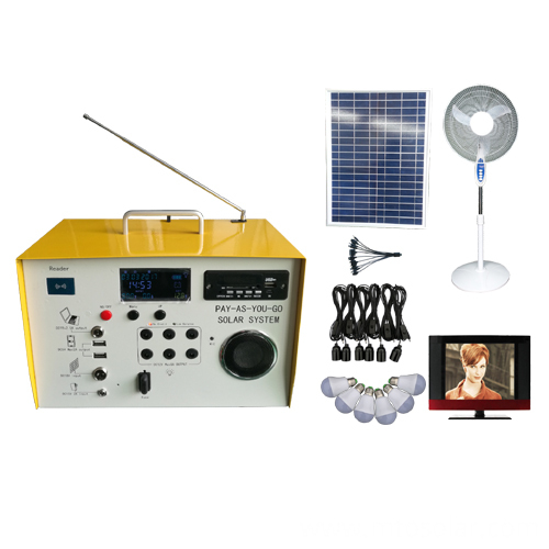 40w Pay As You Go solar home system