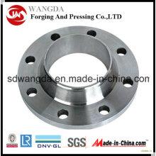 Forja de bridas de acero al carbono roscado de conexión con la alta calidad