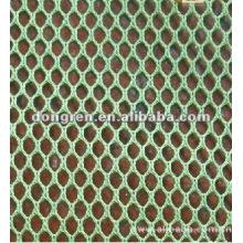 50D 100% полиэфирная шестиугольная сетчатая ткань