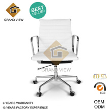 White Leather Modern Lift Recliner Visitor Chair (GV-EA117)