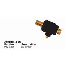 Adaptador de enchufe y receptáculo de junta de cable 3 / 8G 35-95mm²