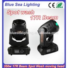350w 17r dmx rgb led spot