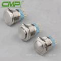 Botón de presión de interruptor de empuje industrial (diámetro: 25 mm)