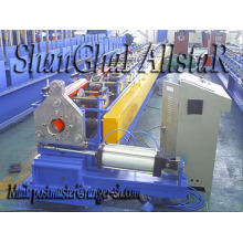 Metal round downspout roll forming machine