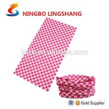 Bufandas calientes de la bufanda de la cabeza del calentador del tubo del cuello del poliester de la venta que completan un ciclo /