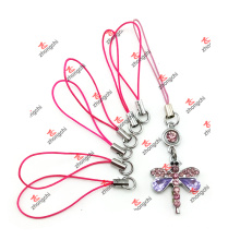 Key Chain Strap Rope with Charms for Handset Bridle (KCS51111)