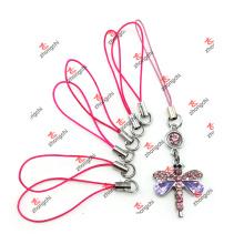 Chaveiro corda corda com encantos para o fone do aparelho (kcs51111)
