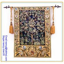 Haste de tapeçaria de parede pendurada, haste de tapeçaria suspensa parede iluminada, haste de decoração de tapeçaria