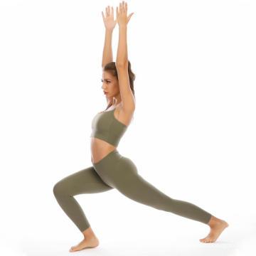 Leggings Sport Wear Yoga Set para correr en el gimnasio