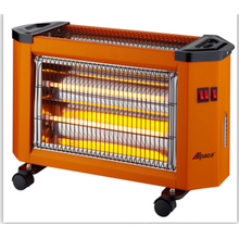 small size quartz heater with fan and humidifying