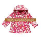 Latest 100%polyester summer kids coat