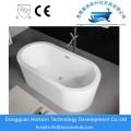 Modern acrylic oval bathtub