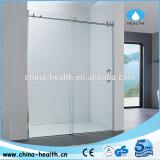 Frameless glass shower screen manufacture