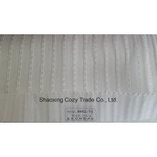 Nouveau tissu de rideau transparent Organza VoIP pour plancher de projet populaire 008273