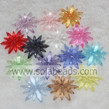 Top 40MM Earring Blossom Flower Beads