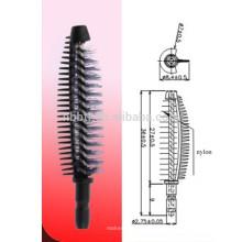 fashionable silicone widly used mascara brush