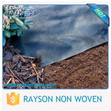 Material 100% polipropileno y membrana resistente a las malas hierbas no tejida hilada