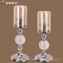 Ausgezeichnete Qualität einfaches Design Weihnachtsdekoration Metall Kerzenhalter