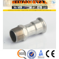F304/316 Stainless Steel Press Fittings Inxo Coupling Male