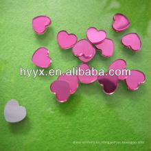 Gemas baratas de la forma del corazón para el amante / el día de tarjeta del día de San Valentín